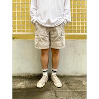 Columbia / Cotton Cargo Shorts  / Ivory / Used(V)