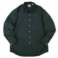 OLD GAP / Cotton Multi Checked B.D Shirt / Used