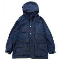 80s Eddie Bauer / Nylon Mountain Parka / Navy / Used