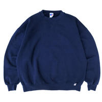 Made in USA / 90s Russell Authentic / Solid Sweat / Navy / Used