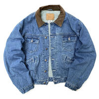 OLD GAP / Cotton Lined Denim Jacket / Indigo / Used