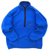 Patagonia / Half Zip Synchilla Fleece Pullover / Blue / Used
