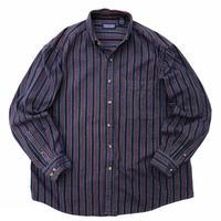 LANDS'END / Cotton Multi Striped B.D Shirt / Multi / Used