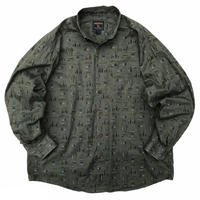Woolrich /  Fly Fishing Shirt / Olive / Used