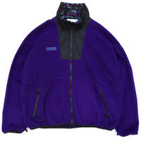 90s Columbia / Full Zip Fleece Jacket / Purple / Used