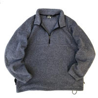 EBTEK by Eddie Bauer / Half Zip Polartec Fleece Pullover / Grey / Used