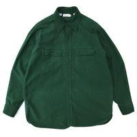 70-80s L.L.Bean / Chamois Cross Shirt / Green / Used