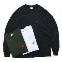 RWCHE / ONE DUDE L/S Tee / White , Black , Green