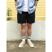 DOCKERS / Cotton Chino 2Tuck Shorts  / Navy 34 / Used(06)