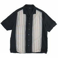 Multi-Color Open Collar Shirt / Used