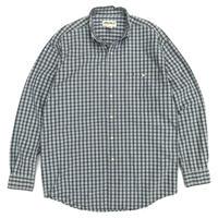 00s Eddie Bauer / B.D Check Shirt / Light Green / Used