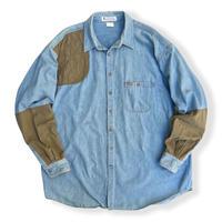 90's Columbia / Hunting Shirt / Indigo XL / Used