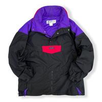 90's Columbia / Multi Color Nylon Anorak/ Multi XL / Used