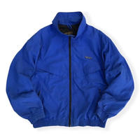 Made in USA / 80's Eddie Bauer / Sport Jacket / Blue L / Used