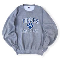 Made in USA / 90's Russell Athletic / College Logo Sweat / Grey XXL / Used