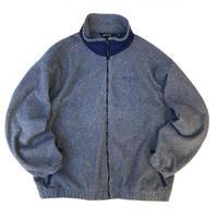 Made in USA / EBTEK by Eddie Bauer / Polartec Fleece Jacket  / Grey / Used