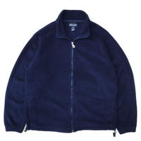 Made in USA / LAND'S END / Full Zip Fleece Jacket / Navy / Used