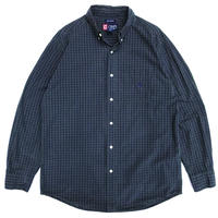Chaps by Ralph Lauren / B.D. Check Shirt / Black Watch / Used