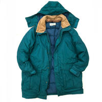 Made in USA / 80s L.L.Bean / Goose Down Parka / Green / Used