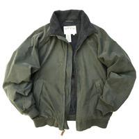 00s ORVIS / Fleece Lined Nylon Jacket / Khaki / Used