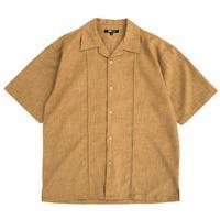 Dry Open Collar Shirt / Mustard / Used