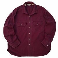 00's REI / 2Pocket Chamois Shirt / Burgundy / Used