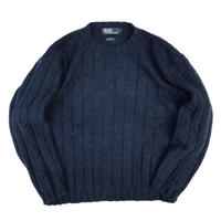 Polo Ralph Lauren / Lambswool Knit Pullover / Navy / Used