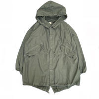 Dead Stock / US Military Fish Tail Snow Parka Overdyed Custom / Olive