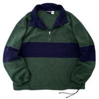 00s Half Zip Fleece Pullover / Green / Used