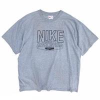90's Nike / Print Tee / Grey / Used
