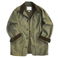 00s ORVIS / Quilting Lined Barn Jacket / Olive / Used