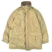 Made in USA / 80s L.L.Bean / Goose Down Coat / Beige / Used