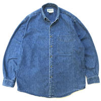 90s Eddie Bauer / B.D.Denim Shirt /Indigo / Used