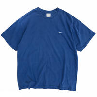 00's Nike / One Point Embroidered Tee / Blue / Used