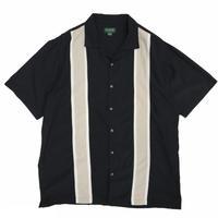 Multi Color Open Collar Shirt / Black / Used