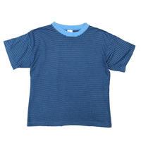 Cotton Border Tee / Blue /Used
