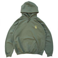 Color at Against Originals / Mister Embroidered Hoodie / Olive