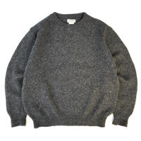 Dead Stock / Made in USA / 80s L.L.Bean / Pullover Wool Knit Sweater / Grey / Used