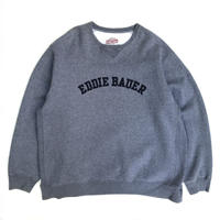 Eddie Bauer / Logo Sweat / Grey / Used