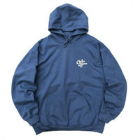 Color at Against Originals / C & C Hoodie / Indigo Blue