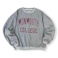 90's College Logo Sweat / Grey XXL / Used
