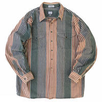 Cotton Multi Striped Shirt / Used