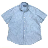 Polo Ralph Lauren / Chambray B.D.  Shirt / Lt.Blue / Used