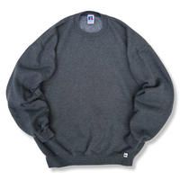 Made in USA / 90's Russell Athletic / Solid Sweat / Charcoal XL / Used