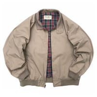 90s Eddie Bauer / Harrington Jacket / Beige / Used