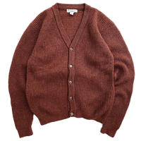 80s L.L.Bean / Wool Cardigan / Brown / Used