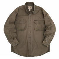90's Woolrich / 2Pocket Outdoor Shirt / Brown L / Used