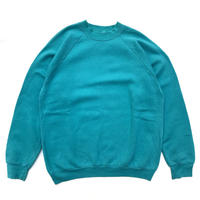 Made in USA  / Fruit Of The Loom / Crew Neck Sweat / Green / Used