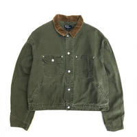 Made in USA / Polo Ralph Lauren / Duck Work Coat  / Olive / Used