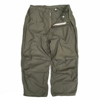 """Made in USA / US Military Snow Camo Pants """"Pocket & Color Custom"""" / Olive"""